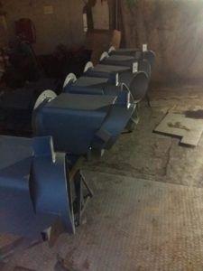 Стаканы для крепления крышных вентиляторов 1-1