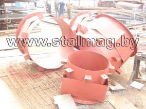 Стаканы для крепления крышных вентиляторов, дефлекторов и зонтов 14