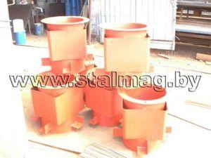 Стаканы для крепления крышных вентиляторов, дефлекторов и зонтов C1 15