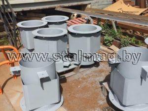 Стаканы для крепления крышных вентиляторов, дефлекторов и зонтов 28