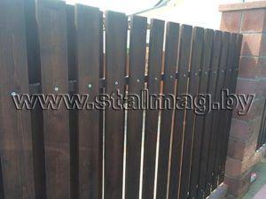 Забор в частный дом 30