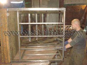 Элементы лестницы с площадкой 43