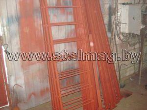 Лестницы пожарные и столбы металлические 51