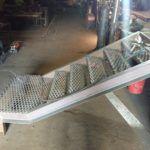 Металлическая лестница 11
