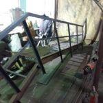 Лестницы металлические 3