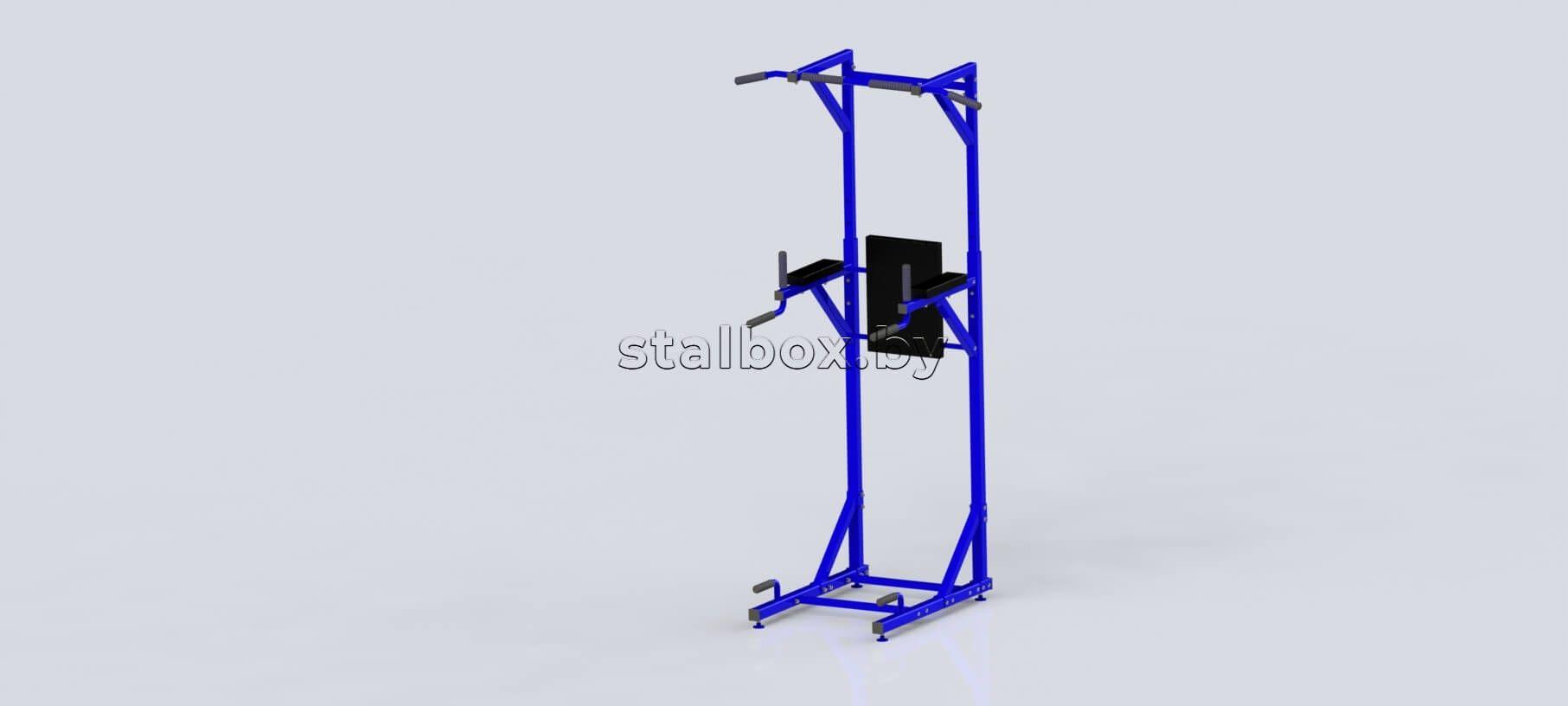 Турники силовые (синие) | Слайд Array
