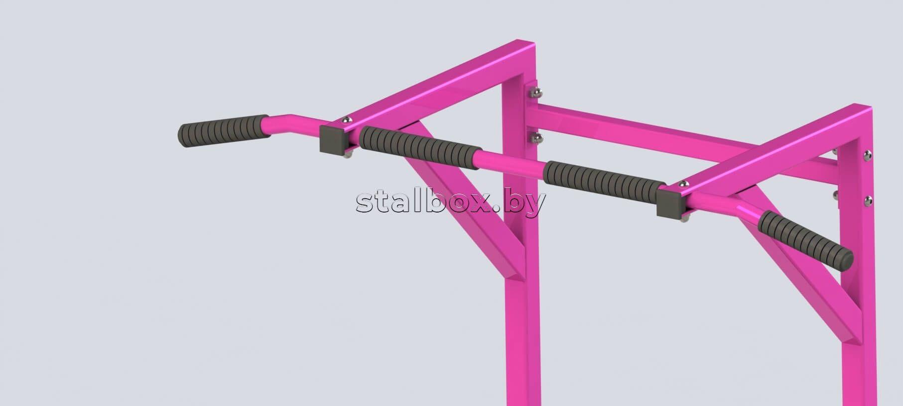 Турники силовые (розовые) | Слайд Array