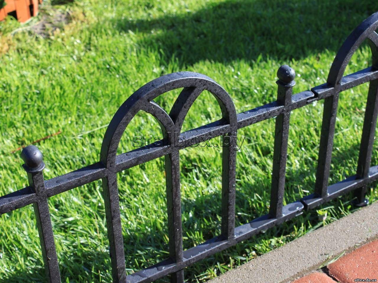 Выбираем ограждения для газона и цветочных клумб: полезные советы экспертов